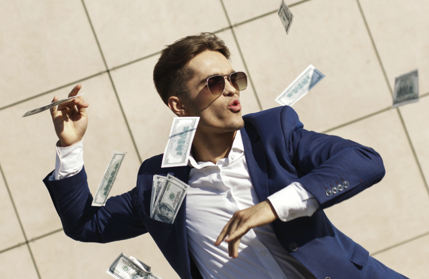 Are Americans are infatuated with money?